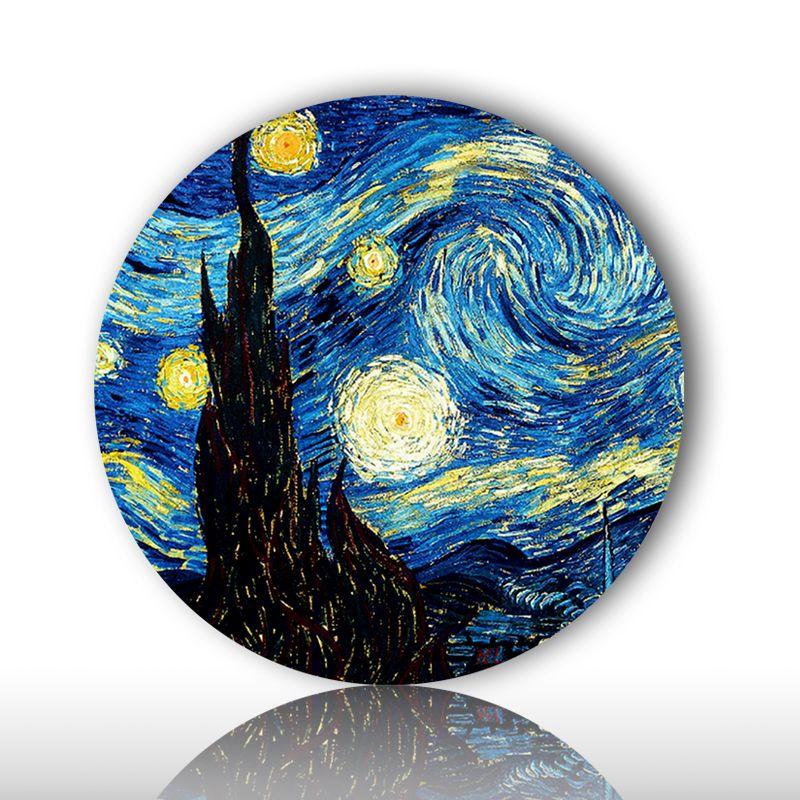 Голландия известный художник Винсент Виллем Ван Гог, картина стене висит декоративные тарелки Импрессионизм стиль украшения для дома