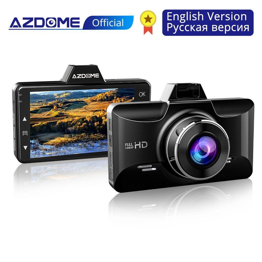 AZDOME Mini Full HD1080P Dash Cam 3 pouces 2.5D IPS écran voiture DVR enregistreur caméra voiture enregistreur vidéo Dashcam M01 Dash caméra