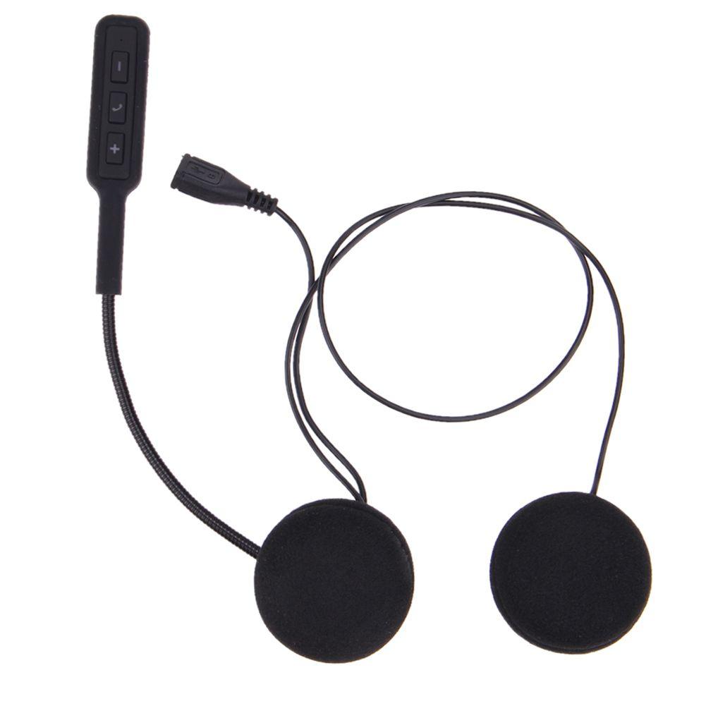 Auto Motor Helmet Speakers Wireless Bluetooth Headset Motorcycle Earphone Headphone <font><b>Handsfree</b></font> Music For MP3 MP4 Smartphone New