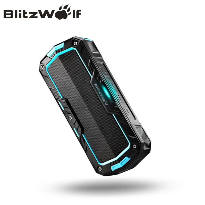BlitzWolf Stereo Bluetooth Speaker Portable Wireless Speaker Bluetooth <font><b>Mobile</b></font> Phone Speakers Mini Speaker Waterproof For Phones