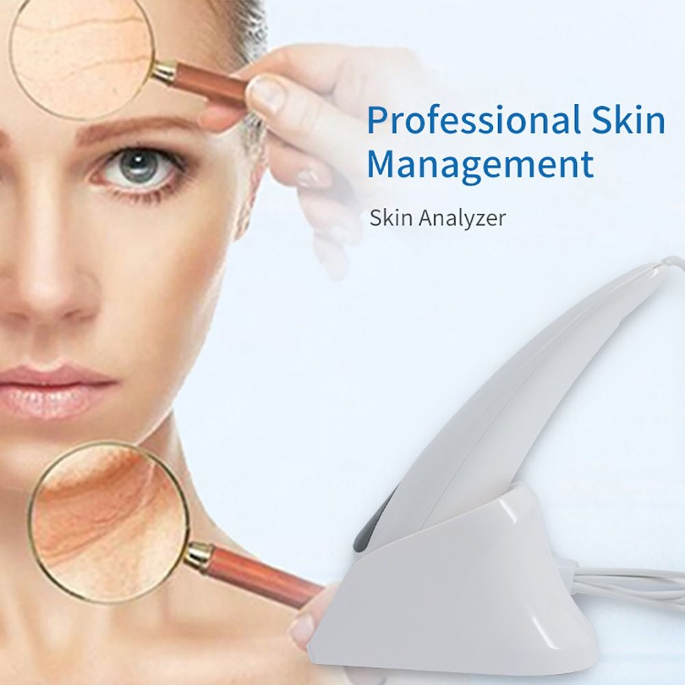 2017 new professional skin management software, can add beauty products. Epidermis / dermis / uv layer triple skin analysis