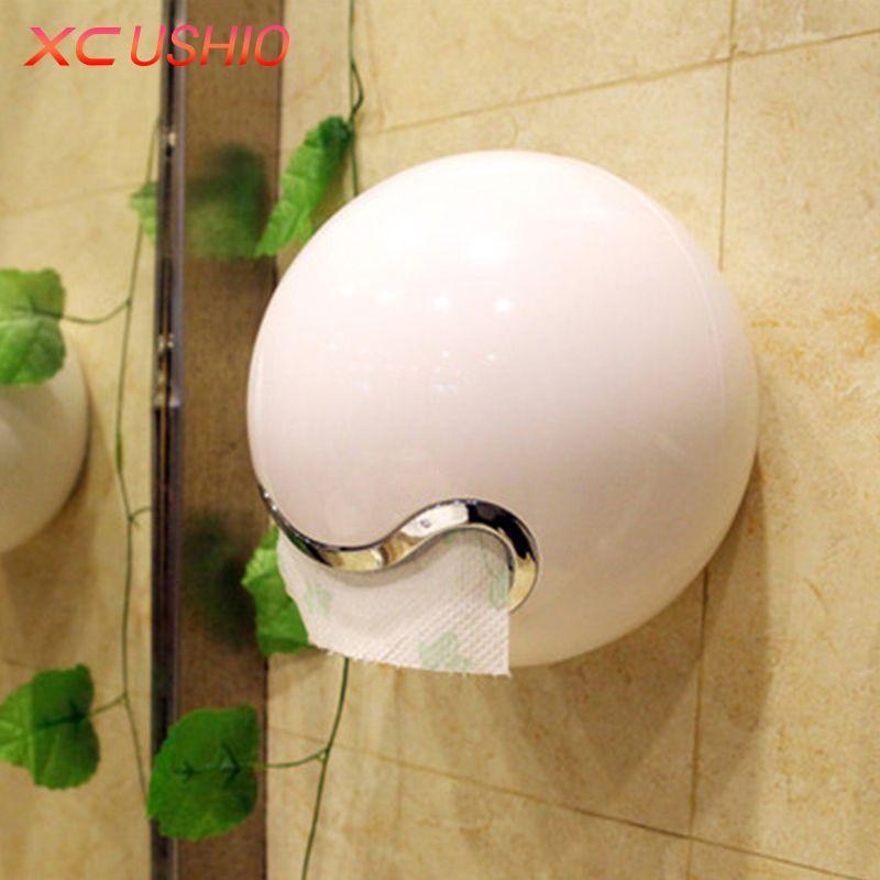 Creative Wall Mounted Tissue Storage Box Bathroom Toilet Waterproof Tissue Holder Hanging Napkin Container Case