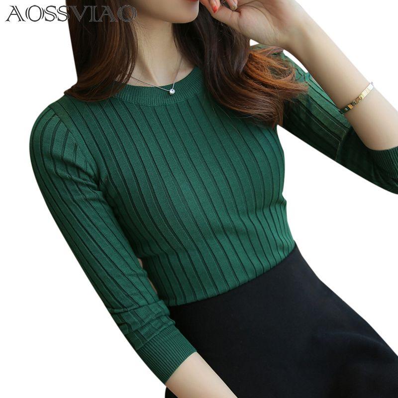 Femmes chandail haute élastique solide col roulé 2019 automne hiver mode chandail femmes Slim Sexy haute fond tricoté pulls