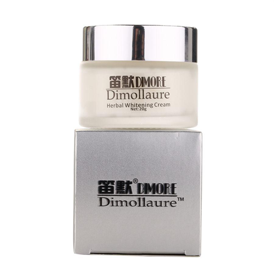 Crème blanchissante effet fort Dimollaure 20g élimine les taches de rousseur melasma taches d'acné pigment mélanine crème de soin du visage par Dimore