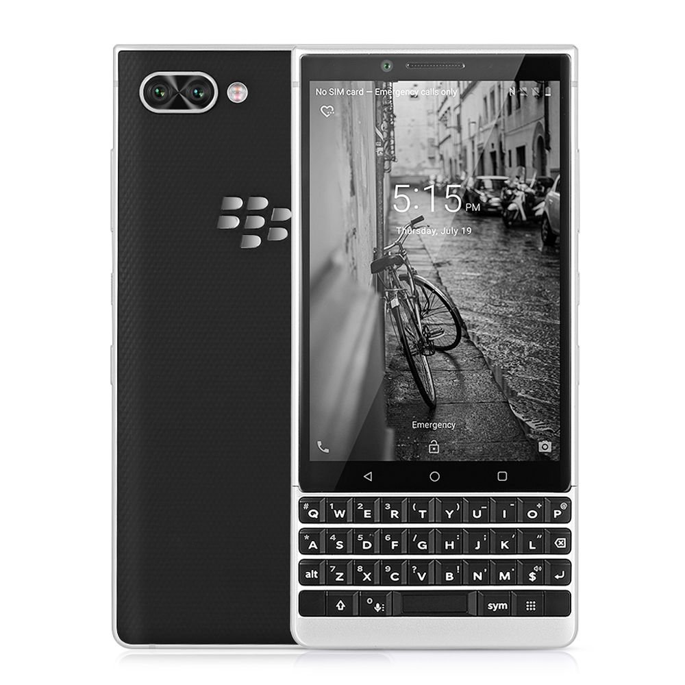BlackBerry KEY2 4g Smartphone 4,5 zoll Android 8.1 Snapdragon 660 Octa Core 6 gb + 64 gb 12MP Dual Hinten cam Handy Fingerprint