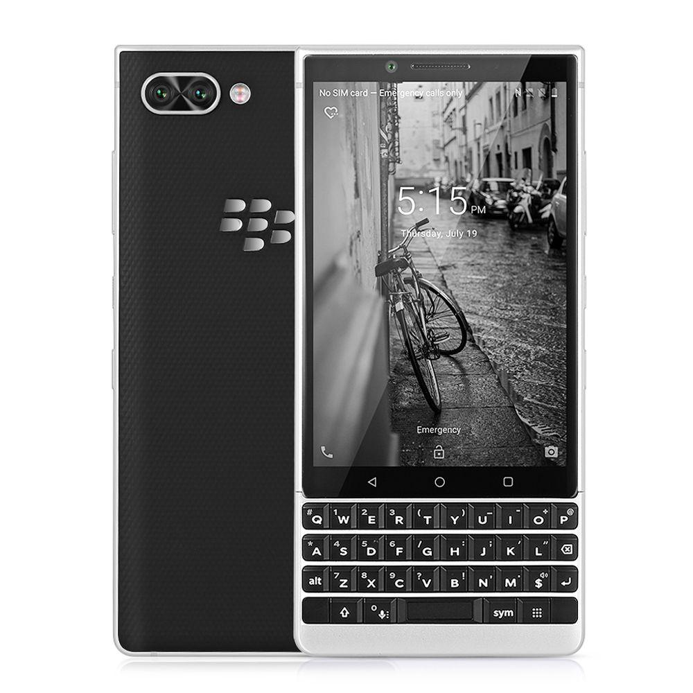 BlackBerry KEY2 4g Smartphone 4,5 zoll Android 8.1 Snapdragon 660 Octa Core 6 gb + 64 gb 12MP Dual Hinten cam Handy Fingerprint