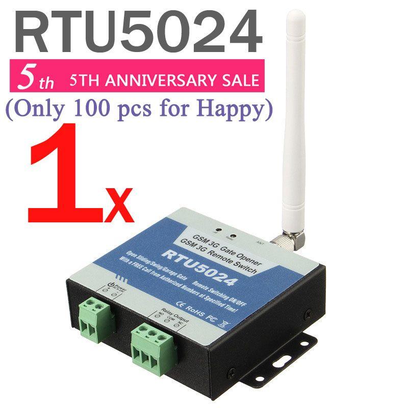 RTU5024 GSM Abridor de Puerta Interruptor de Relé de Control de Acceso Remoto Por la Llamada Libre soporte de iphone y android app