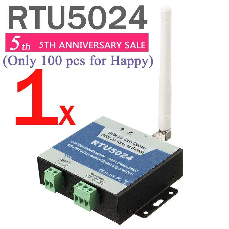 Rtu5024 GSM ворот реле дистанционного Управление доступом по звонок бесплатный Iphone и Android-приложение поддержки