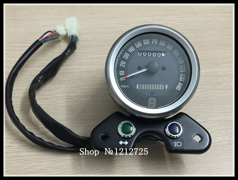 New Motorcycle instrument CG GN Refit Retro LED USB interface moto Odometer