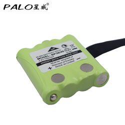 PALO 4.8V 700mAh NI-MH Bateria Battery For Uniden BP-38 BP-40 BT-1013 BT-537 For MOTOROLA TLKR T4 T5 T6 T7 T8 GMR FRS batteries