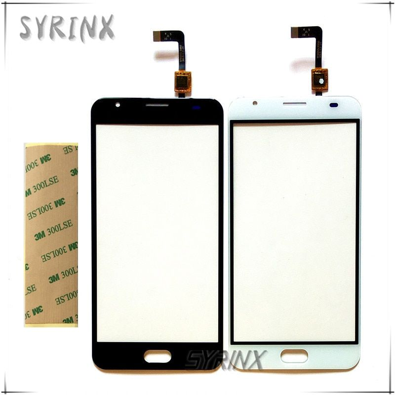 Syrinx With 3M Sticker Moible Phone Touch Panel For Oukitel K6000 Plus Touch Screen Digitizer Front Glass Touchscreen Sensor