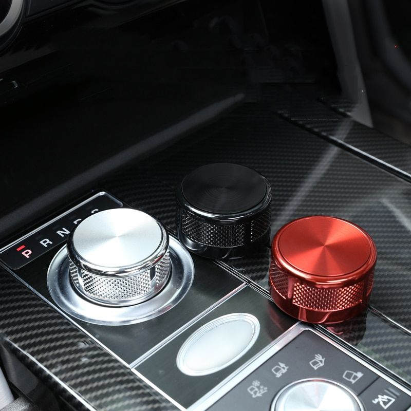 Auto Schaltknauf Kopf Dekoration Abdeckung Trim für Land Rover Discovery Sport/Entdeckung 5/Range Rover Vogue SV/Evoque 2017 2018