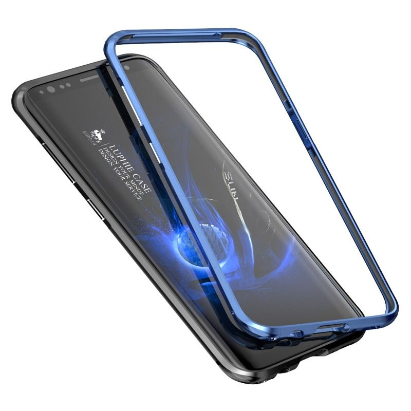 Luphie S8 metal bumper for samsung s8 case luxury aluminum Alloy frame cases cover for samsung galaxy s8 plus fundas S8+ coque