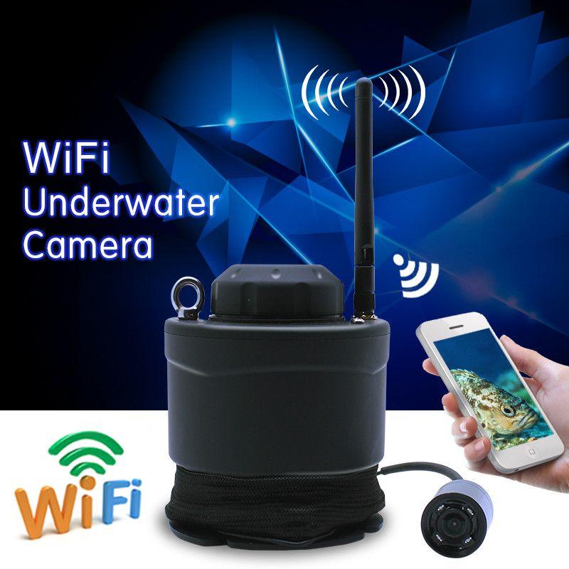 GLÜCK Marke Fish Finder Tragbare WIFI Unterwasser Kamera FF3309 80 mt Wireless-reichweite Karpfenangeln