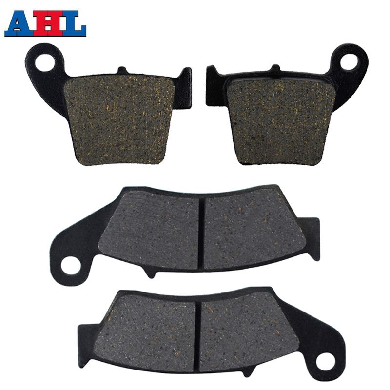 Motorcycle Parts Front & Rear Brake Pads Discs For HONDA CRF250R CRF250X 2004-15 CR125R CR250R 02-07 CRF450R 02-15 CRF450X 05-15