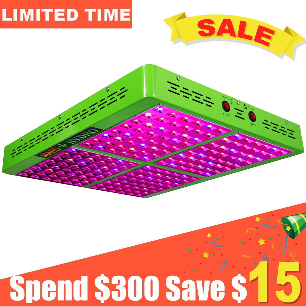 Mars Hydro Full Spectrum Reflector 960W LED Grow Light Indoor Garden Hydro System