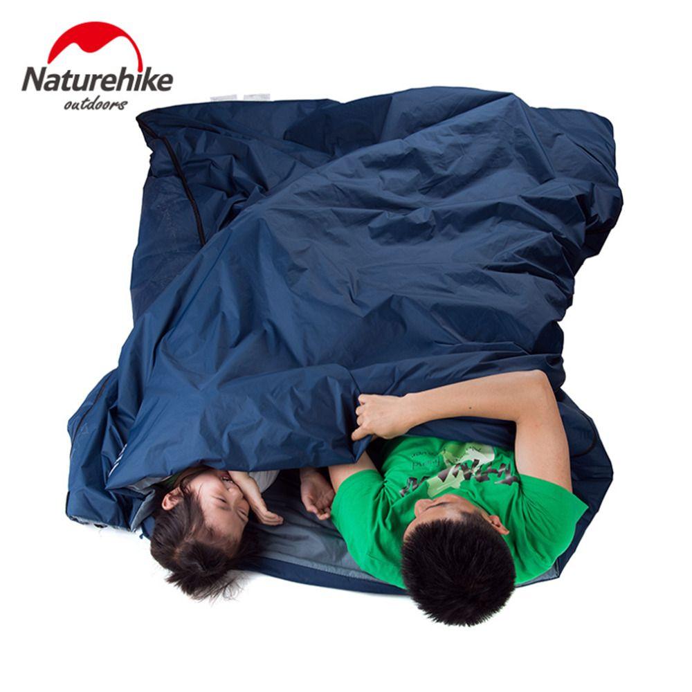 5 Couleurs NatureHike Sac de Couchage Ultra-Léger Multifuntion Portable En Plein Air Sacs de Couchage Enveloppe De Camping Voyage Randonnée Équipement
