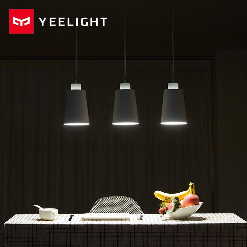 Original xiaomi YEELIGHT Lichter Esszimmer Moderne Restaurant Kaffee Schlafzimmer Beleuchtung E27 Halter Für xiaomi smart home