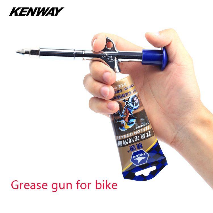 Bicycle grease gun mountain bike Bearing hub axis grease lubricating oil gun