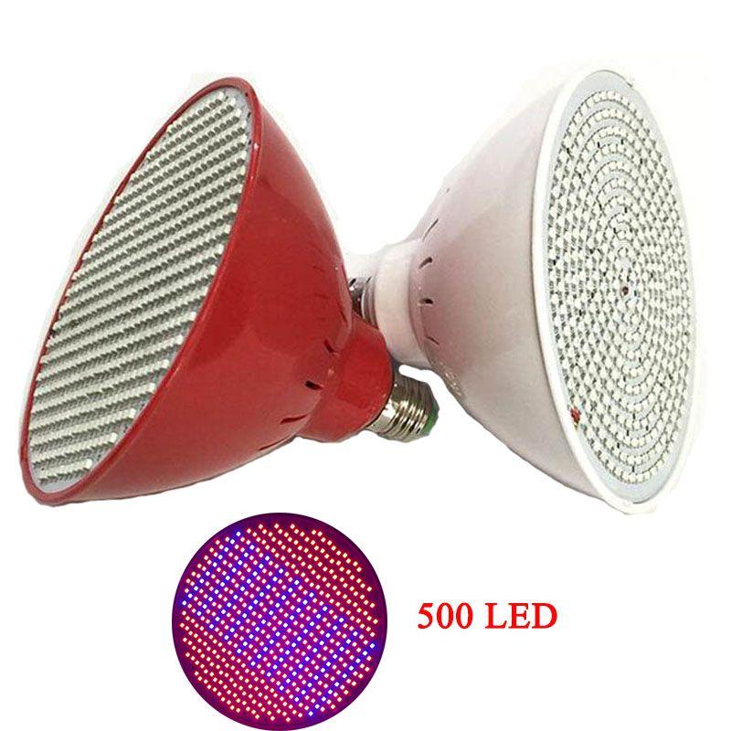 500 Led Élèvent La Lumière ampoule pour Fleur Semis de plantes légumes ampoules culture vert maison intérieure à effet de serre croissance Des Plantes lampe