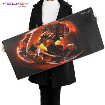 FELYBY thick comfortable natural rubber waterproof  keyboard/mouse pad laptop mouse mat gaming CS gaming mouse  pad to Dote2