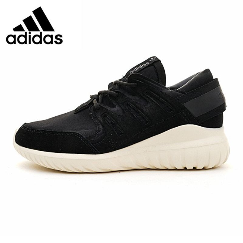 Adidas Tubular Nova Clover Men's Running Shoes , Outdoor Sneakers Shoes, Black, Breathable Abrasion-resistant S74822
