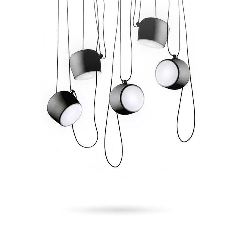 Luminaires suspendus Vintage noir blanc pour salle à manger Restaurant industriel Bar déco maison Suspension lampe Lustre