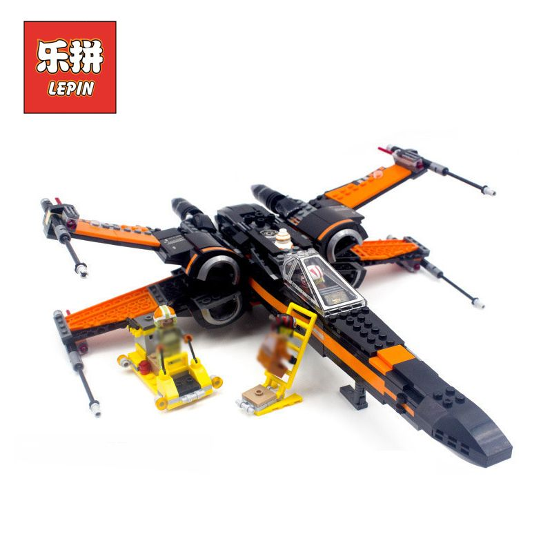 Lepin Building Blocks Bricks Stars Series War 75102 First Order Poe's X Toy Wing Fighter Set DIY Toy Children Gift lepin 05004