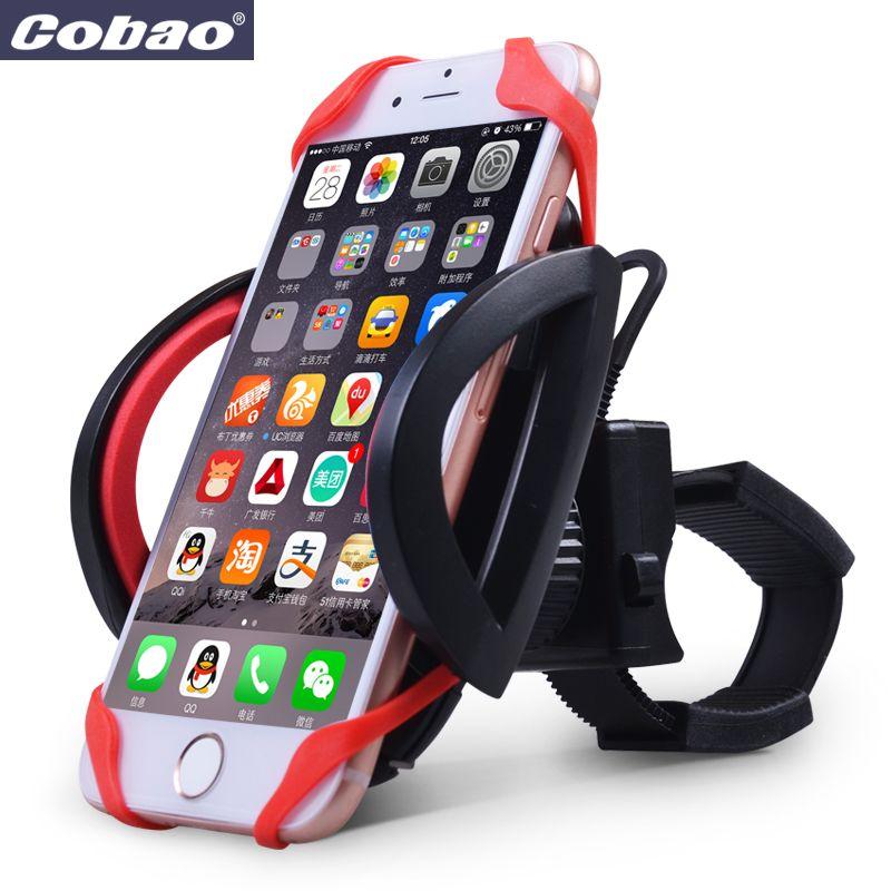 Anti-dérapant universel vélo vélo poignée téléphone Support berceau étui à téléphone Support moto guidon pour téléphone portable GPS