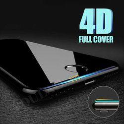 VOULAO 4D Pleine Couverture Bord En Verre Trempé Pour iPhone 7 8 6 Plus Protecteur D'écran Pour iPhone 6 6 s 7 Plus Film Protection En Verre