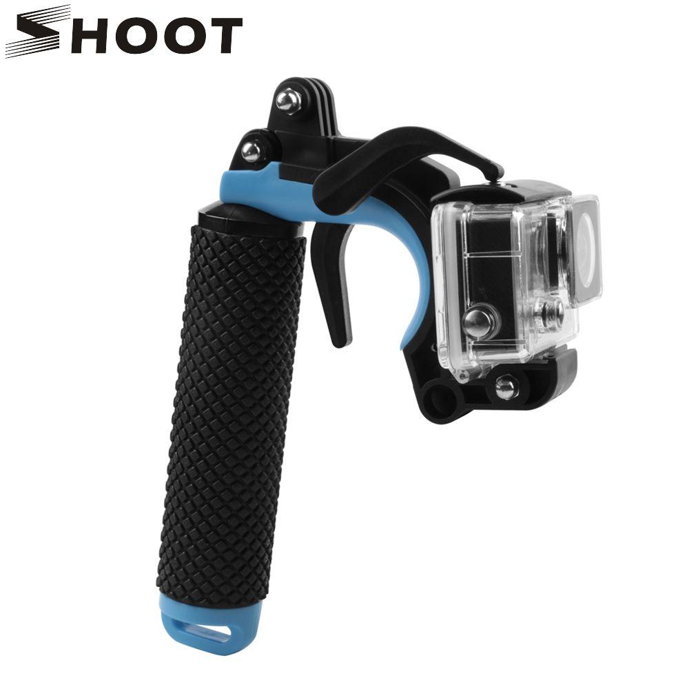 Tir flottant Bobber poignée pistolet jeu de déclenchement pour GoPro Hero 7 6 5 noir Xiaomi Yi 4 K SJCAM SJ4000 Action Cam Go Pro 7 accessoire