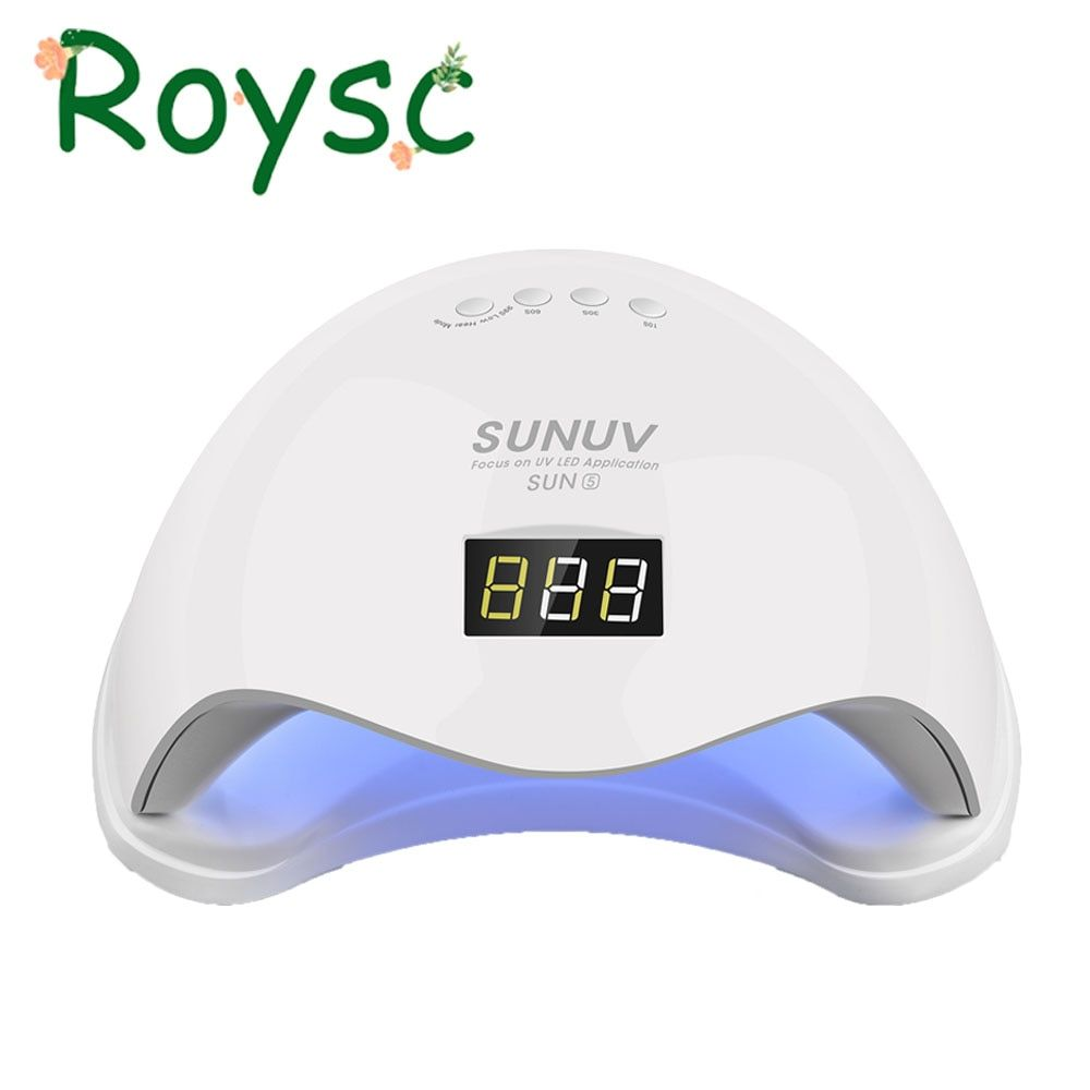SUN5 Nail Dryer 48W Dual UV LED Nail Lamp With LCD display Professional Curing Lamp&Nail Tools Manicure machine Nail design (1)