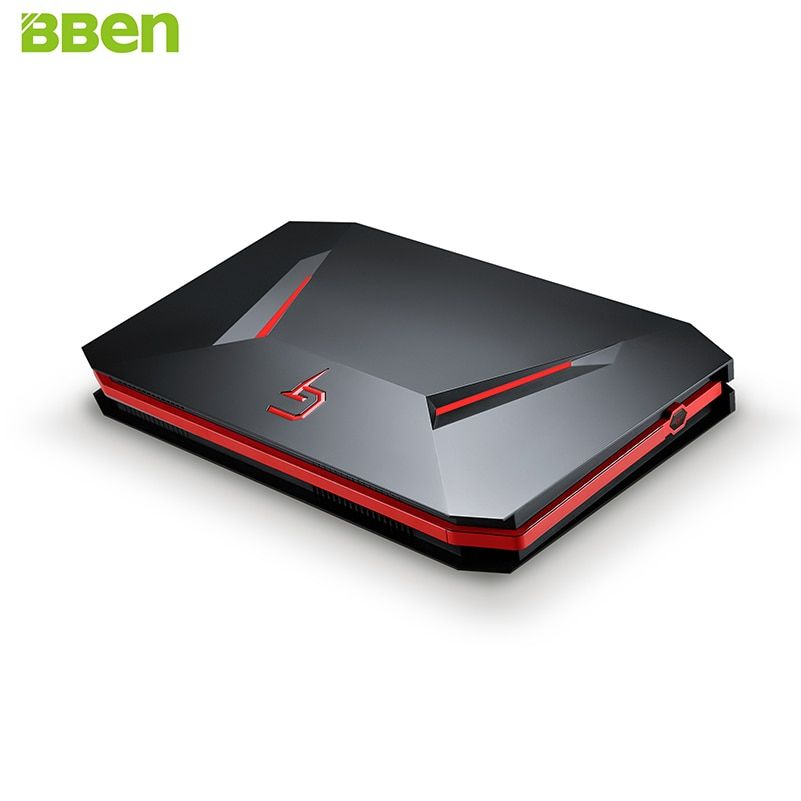 BBEN GB01 Mini PC NVIDIA GTX1060 GDDR5 Intel i7 7700HQ Win10 16 gb RAM 512g SSD keine HDD WiFi BT Spiel Box Gaming Computer Mini Host