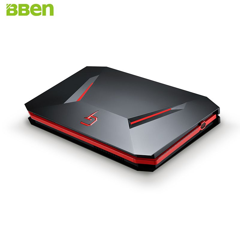 BBEN GB01 Mini PC NVIDIA GTX1060 GDDR5 Intel i7 7700HQ Win10 16GB RAM 512G SSD no HDD WiFi BT Game Box Gaming Computer Mini Host