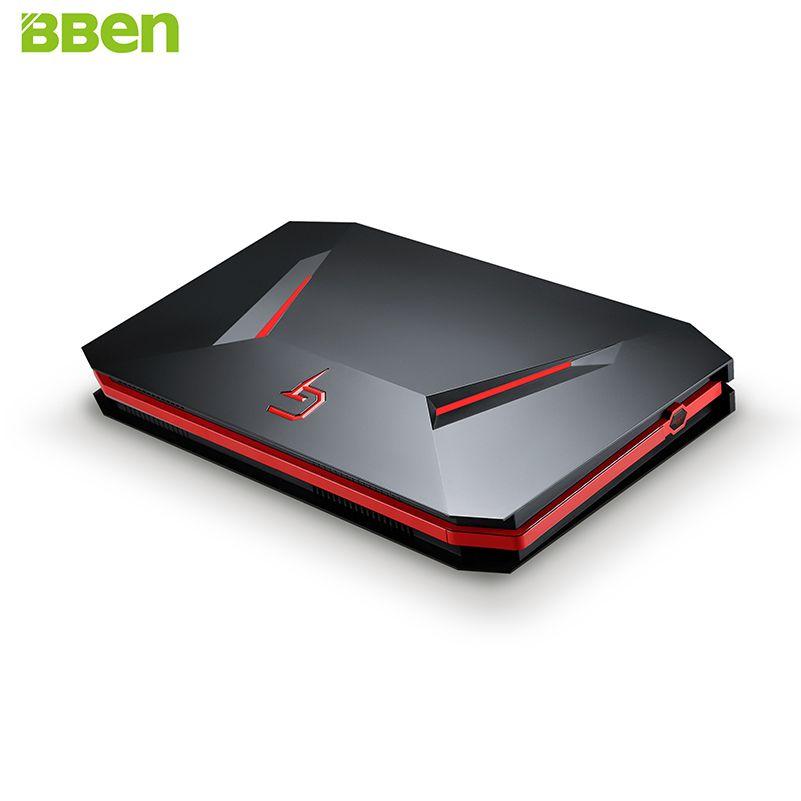 BBEN GB01 Mini PC NVIDIA GTX1060 GDDR5 Intel i7 7700HQ Win10 16GB RAM 512G SSD no HDD WiFi BT Game Box Gaming Computer Mini Host