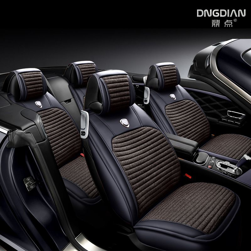 Breathable Car Cushion Full Surround Car Seat Cover For Toyota Prius Prado 150 120 Highlander Sienna Zelas Verso Mark X Crown
