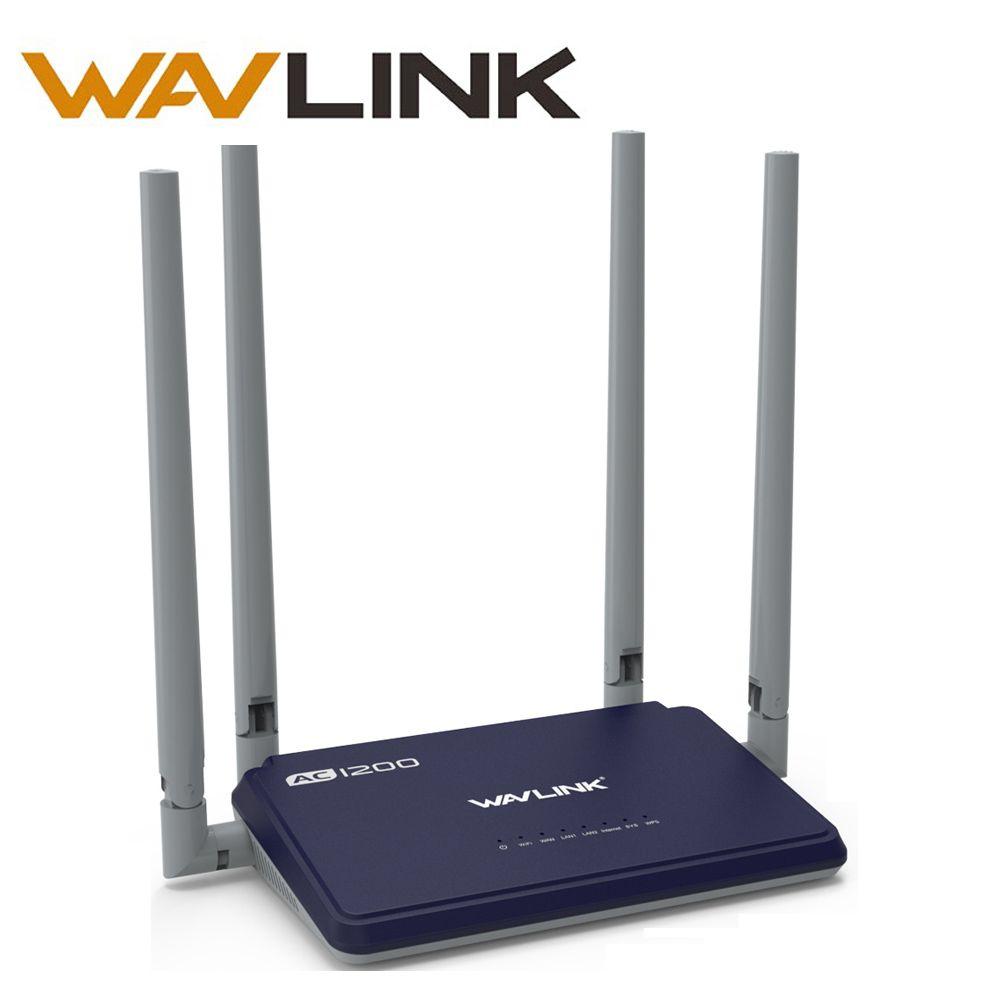 Wavlink Haute Puissance 1200 mbps Sans Fil wifi Routeur wifi répéteur intelligent APP Gérer Double Bande 2.4 ghz/5 ghz WPS wifi range extender