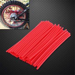 36 pcs/ensemble 17 cm Universal Moto Motocross Dirt Bike Roue Jante Couverture Parle Wrap Peau Couverture Décor Protecteur