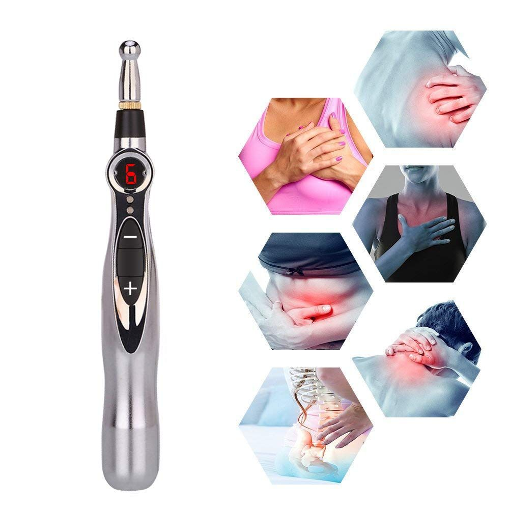 Acupuncture Pen Meridian Acupoint Energy Massage Pen, Needleless Acupuncture Tools for Pain Relief and Healthcare