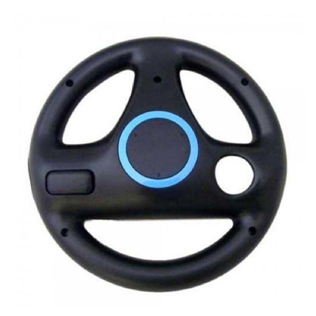 Hot Sale Black Steering Wheel For Nintendo Wii Mario Kart Racing Top Quality Games Remote Controller