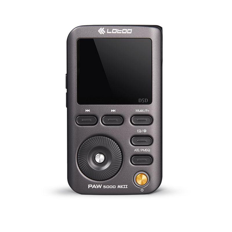 LOTOO PAW 5000 MKII portable Hi-Fi music player AKM Premium series DAC chip AK4490 DSD64/DSD128/ DSD25 32bit/384KHz USB3.0 JABEN
