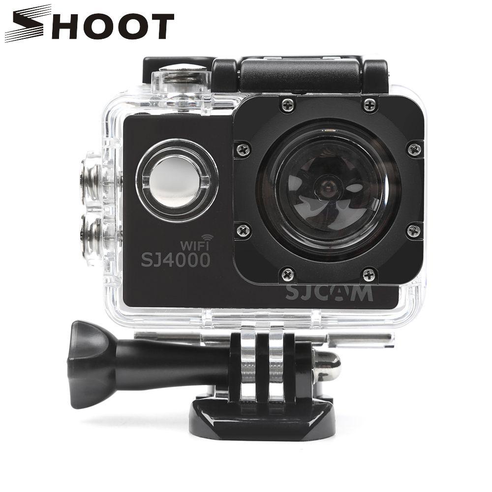 SHOOT 40M Diving Waterproof Housing Case for SJCAM SJ4000 SJ 4000 WIFI EKEN h9 h9r Action Camera h9 Case for SJ4000 Accessories