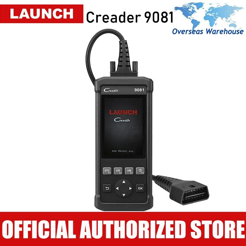 Launch CReader 9081 Automotive Reset Tool OBD2 Scanner Code Reader Reset Auto Car Diagnostic Scaner Brake Oil Reset
