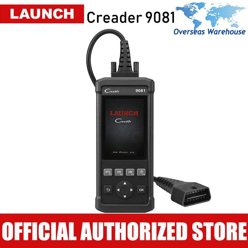 Starten CReader 9081 Automotive Reset Tool OBD2 Scanner Code Reader Reset Auto Auto Diagnose Scaner Bremse Öl Reset