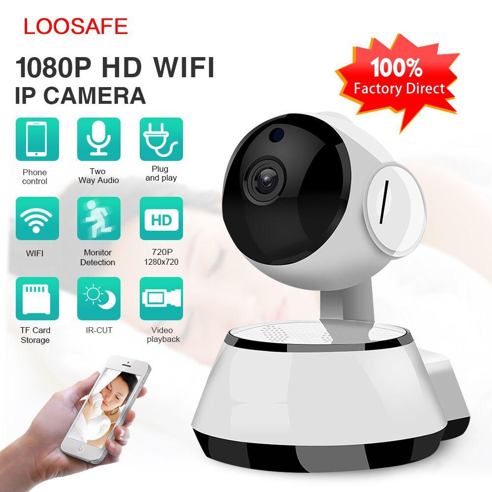 Caméra IP de sécurité WiFi sans fil caméra pas cher enregistrement Audio WI-FI Surveillance de Vision nocturne ir-cut Mini caméra de vidéosurveillance HD