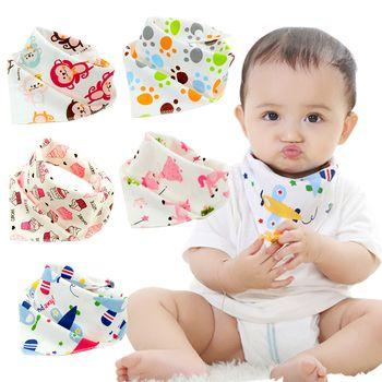10 pièces/lot Coton nouveau Bébé babador bandana bavoirs pour bébés Écharpe garçons Filles bébé bib burp Chiffons
