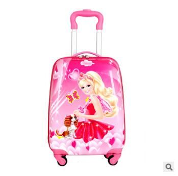 Kid's Travel Trolley suitcase kid Trolley case Kid luggage trolley case wheeled travel case Children trolley Case for kids