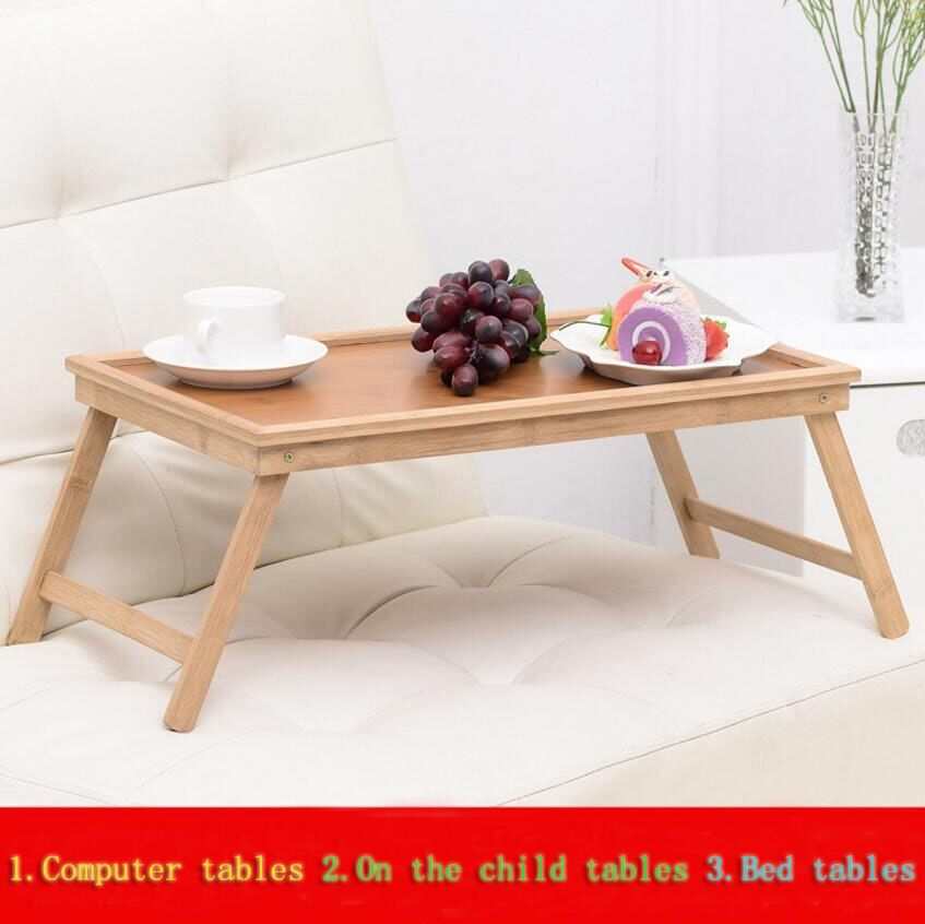 High quality Thicken Computer desk Writing desk Foldable household Sofa Bed Tray notebook laptop desk learning small table SE22