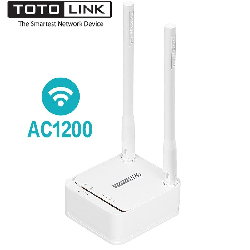 TOTOLINK A3 1200Mbps Dual Band Mini Size WiFi Router Wireless Bridge For Home Network,Wi-Fi Repeater Support VPN/Multi-SSID