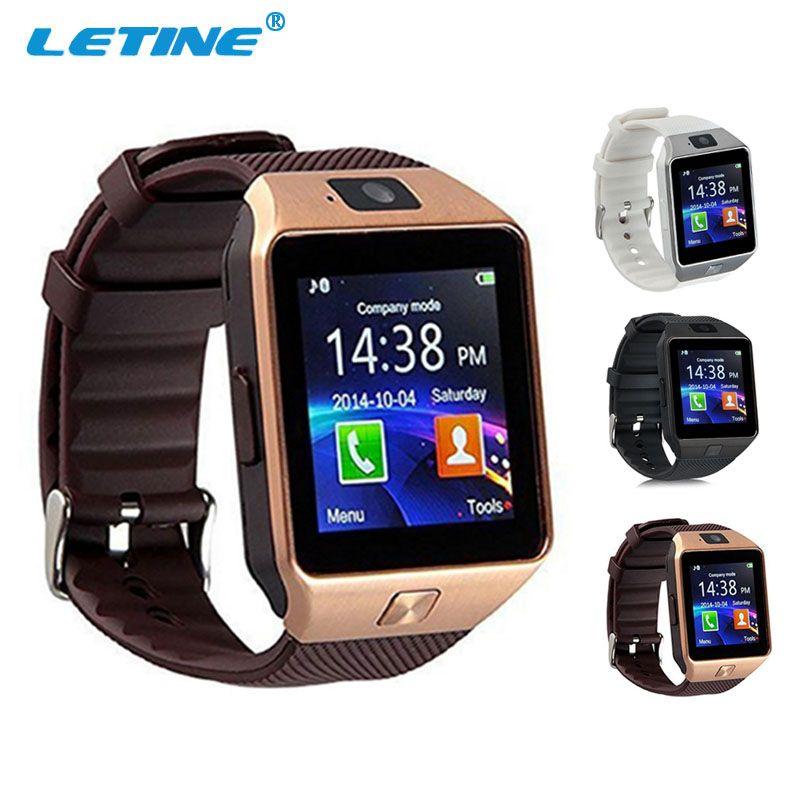 Letine DZ09 DZ 09 hombres reloj teléfono inteligente dispositivo Wearable smartwatch Bluetooth para conectar Android apple iphone amazfit PK GT08 a1